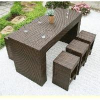 Quality Fashion Rattan Bar Table and Chair (BZ-B004) for sale