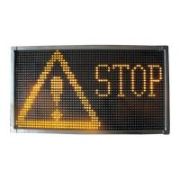 Quality LED emergency display screen signboard for police traffice cars trucks lightbar LDP2002 for sale