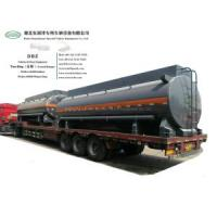 Chemical Liquid Tanker Body with Container Locks Trailer Road Transport 5000USG-6000USG (Solution HCl,NaOH,NaCLO,PAC,H2SO4,HF,H3PO4,H2O2 Store Tank Lined PE)