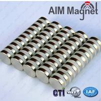 Quality Strong Disc Round N35 Rare Earth Magnets Neodymium 17mm x 2mm for sale
