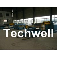 Quality 30KW Electric Control System 0.2 - 2.0mm Thickness Simple Slitting Cutting Line for sale