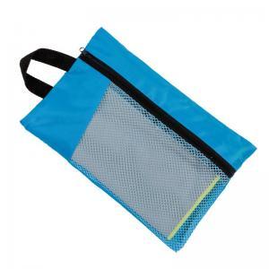 Quality Sun Shine Fast Drying Digital Printed Microfiber Sport Travel Towel With Pocket Mesh Bag for sale