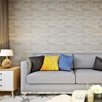Buy cheap 3D Brick Effect Contemporary Style Vinyl Wall Covering 0.53*10M from wholesalers
