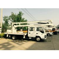 Quality ISUZU Aerial Platform Truck 14m -16m 360 Degree Turning To Left / Right Side for sale