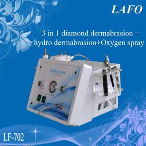 Quality 3 IN 1 diamond & Hydra facial dermabrasion & Oxygen spray for sale