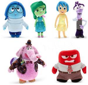 Cute Disney Inside Out Soft Dolls Cartoon Plush Toys for Babies