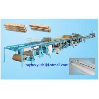 Quality Corrugated Cardboard Carton Production Line 3 5 7 Layer Various Flute Type for sale
