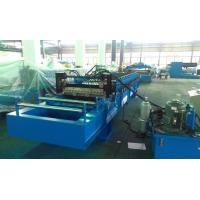 Quality High Speed 0 - 25m / min Corrugated Roll Forming Machine Fly Cutting No Stop for sale