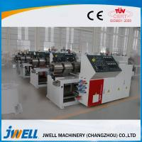 Quality Door Board WPC Extrusion Line Full Automation PLC Touching Screen for sale