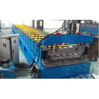 Quality IBR 686 Roof Profile Roll Forming Machine 0.3mm - 0.8mm Thickness for sale
