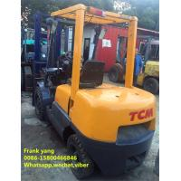 Quality 3 T Reconditioned Forklift Trucks Diesel Fuel Type 3000 Kg Rated Loading Capacity for sale