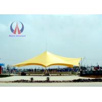 Light Steel Tube Support Tension Fabric Buildings For Tensile Structure Systems