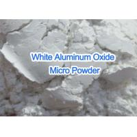 Quality White Pure Aluminum Oxide Micro Powder , Super Fine Grit Aluminum Oxide for sale