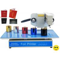 Quality 150w AMD-3025 Digital Hot Foil Printer , Foiling Machine For Cards / Certificates for sale