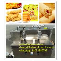China factory supplier chap puffed snack food machine on sale
