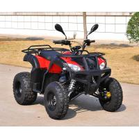 Quality Automatic 200CC ATV Red 4 Wheels Digital Speed Meter With Two Seat for sale
