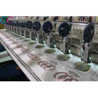 China Clothing Flat Bed Sequin Embroidery Machine , Digital Computer Embroidery Machine 1000SPM on sale