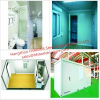 Quality Portable Prefab Container Homes With Interior Decorations  Bedroom/Bathroom/Kitchen/Washbasin for sale