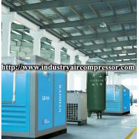 75kw motor driven stationary screw air compressor low noise 455cfm 115psi