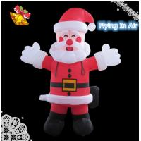 Multi-size Christmas Inflatable Santa Claus for Christmas Decoration
