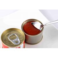 China Natural Tomato Puree Canned Tomato Paste Canning Tomato Sauce on sale