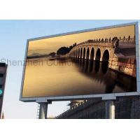 China Outdoor P3 RGB Full Color Screen High Definition Display Waterproof ROHS / SGS on sale