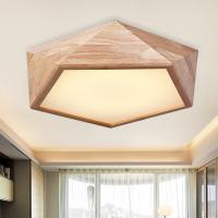 Quality Natural wood ceiling Lights For Bedroom Living room Kitchen Lighting Fixtures (WH-WA-06) for sale