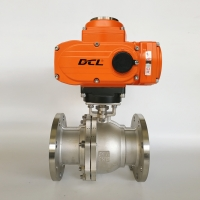 Quality Anti Explosion CF3M DN80 Cryogenic Electric Ball Valve for sale