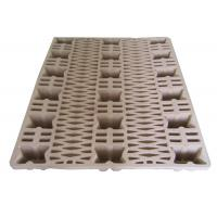 Quality Eco - Friendly Waste Paper Pulp Pallet Molded Single Faced Style for sale
