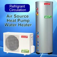Quality Economical Air Source Heat Pump Water Heater Floor Standing Installation for sale