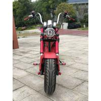 1500W 60V Electric City Bike High Carbon Steel Motorcycle 50km/h Speed Handleber Acceleration