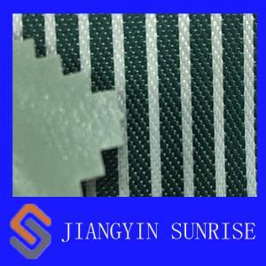 China Glass Green Nylon Oxford Fabric , PVC Coated Waterproof Nylon Fabric on sale