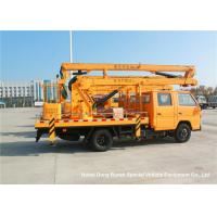 Quality JMC 14-16m 4x2 Double Cabin Aerial Platform Truck For High Operation Working for sale