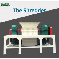 Quality Double Shaft Plastic Shredder Machine Large Caliber Pipe With 1000kg/h for sale