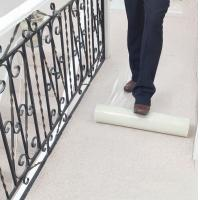 PE Surface Protection Film Roll , Protective Plastic Film For Carpets / Floors