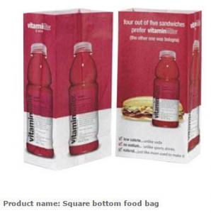 Quality Grocery Bag, Tea bags,  Square food paper bag,  Snack bags,  Pie packing bag,  Kraft paper food bag,  Kraft packing bags for sale