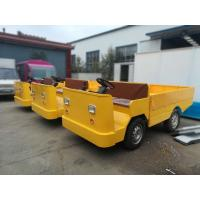 Quality Battery Operated Electric Cargo Vehicle With Loading Platform And Foldable Guardrail for sale