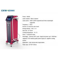 Quality Three Wavelength Permanent Laser Hair Removal Machine 808nm 755mm 1064nm for sale