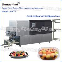 China Automatic four station thermoforming machine for Egg trays, Lunch box on sale
