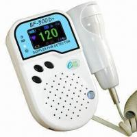 Quality Fetal Doppler with Rechargeable Battery, High Sensitivity and Water-resistant Probe for sale