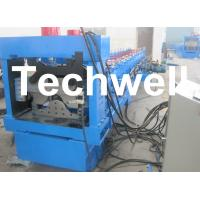Quality Manual, Automatical Decoiler Top Hat Cap Roll Forming Machine for sale
