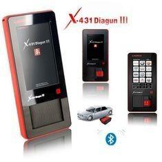Quality Original Launch X431 Scanner X431 DIAGUN III Diagnostic Tool 400 MHz ARM9 CPU for sale
