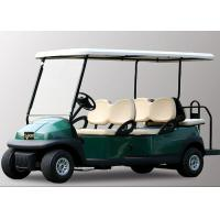 Quality 48V 6 Seater Electric Golf Cart With Aluminum Chassis For Transportation for sale