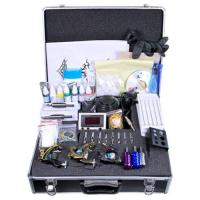 Buy cheap NEW TATTOO KIT 3 GUN MACHINE COMPLETE POWER NEEDLE TIPS CD INK CUP from wholesalers