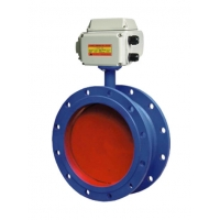 Quality Flanged Ventilation DN1500 Electric Butterfly Valve for sale