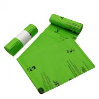 Manufacturing  corn starch based wholesale biodegradable 100% compostable bags on roll