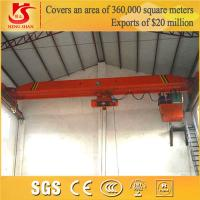 China 1 ton to 20 tons Capacity Electric Single Girder Crane on sale