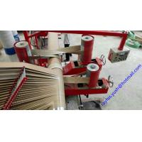 Quality four heads Paper Pipe Making Machine PLC control Inverter adjust Speed for sale