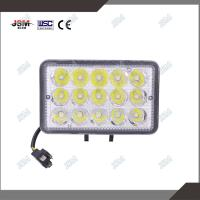 Buy cheap LED Headlight assembly Square auto work light headlamp with 45w leds from wholesalers