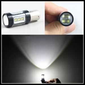 Quality 80W 16SMD OSRAM 1156 BA15S Car Auto LED Reverse Backup Turn Signal Parking fog light Bulb for sale